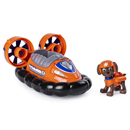 Zuma Paw Patrol (Paw Patrol, Zuma's Transforming Hovercraft with Flip-Open Hook, for Ages 3 &)