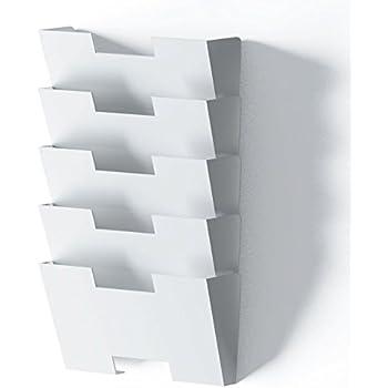 Amazon Com Wallniture Lisbon White Wall Mounted Steel