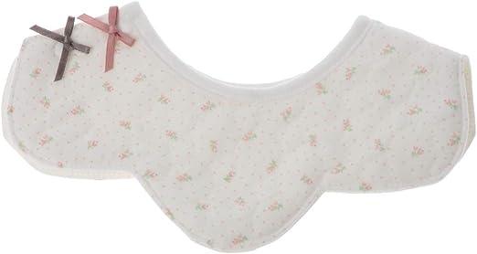 huiouer Baberos algodón con Flores Impermeables para bebé, Baberos para Saliva, 3: Amazon.es: Hogar