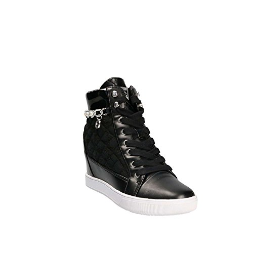 Guess Women's Footwear Active Lady Hi-Top Trainers Black Bkmbk71Pd