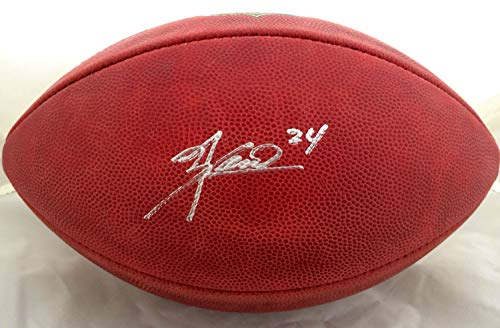 Knowshon Moreno Autographed Memorabilia Official Wilson NFL Game Football - Nfl Wilson Game Official Autographed