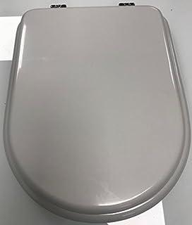 Sedile Wc Dolomite Clodia Originale.Copriwater Dolomite Clodia Originale In Termoindurente Cerniere Inox