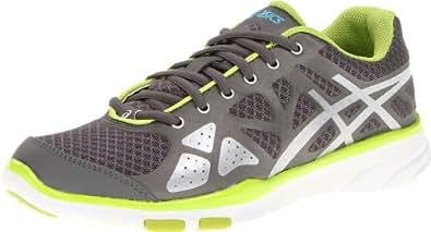 ASICS Women's Gel-Harmony TR Cross-Training Shoe,Titanium/Lightning/Lime,6 M US