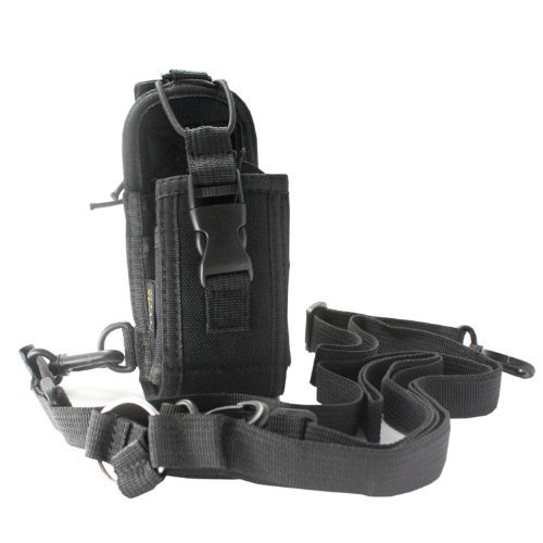ExpertPower 3-in-1 Two-Way Radio Case Protector Pouch for Icom Motorola Kenwood Yaesu Baofeng Wouxun Puxing (Big Size)