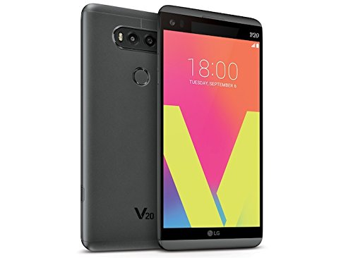 LG V20 VS995 64GB, Verizon, Titan (Renewed) ()