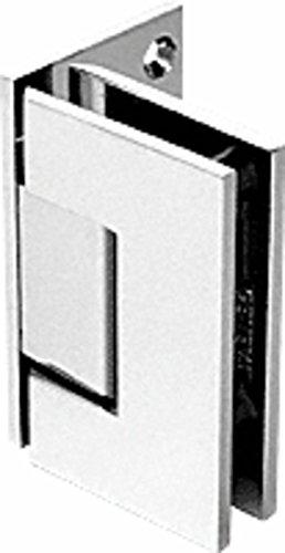 C.R. LAURENCE GEN544PN CRL Polished Nickel Geneva 544 Series Wall Mount Offset Back Plate ()