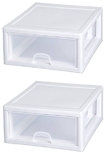 Sterilite Stackable Storage Drawer