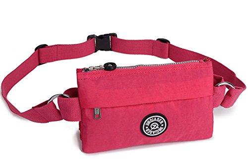 Govc Casual Waist Bag Outdoors Packs (Rose)