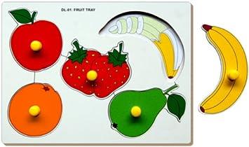 Little Genius Fruits - Double Layer, Multi Color