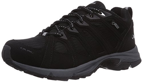 Viking de Chaussures Schwarz Black Femme Fitness Outdoor 203 W Grey GTX Impulse Noir An4qrFA