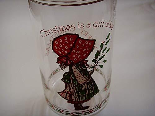 (Vintage Holly Hobbie Coca Cola Drinking Glasses 6