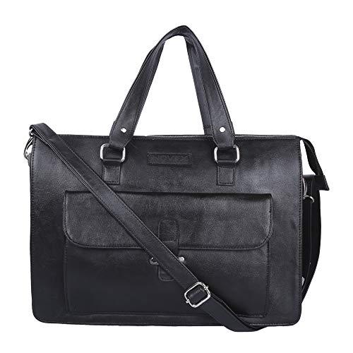 Novex 15.6 inch 12 Ltrs Black Laptop Messenger Bag  NXLB190BK