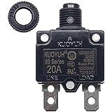 KUOYUH Circuit Breaker 88 series 125/250VAC 50/60Hz (1pc) (20A)