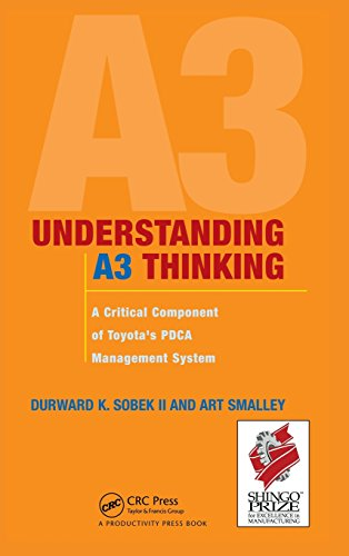 Book : Understanding A3 Thinking: A Critical Component of...