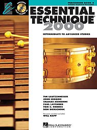 Percussion Essential Elements - Hal Leonard Essential Technique for Band - Percussion and Keyboard Percussion (Book 3 with EEi)