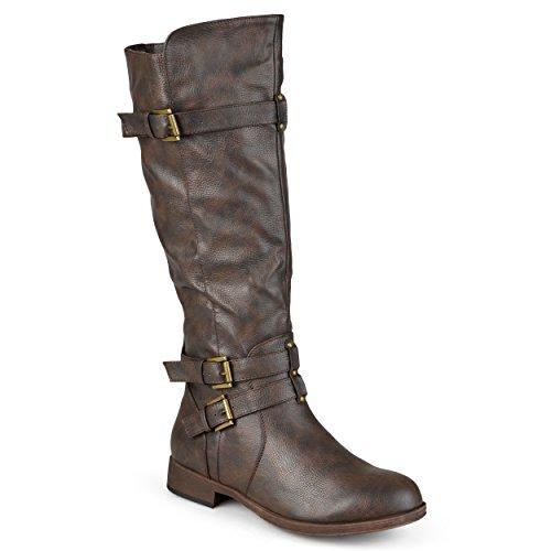 wide calf knee high boot