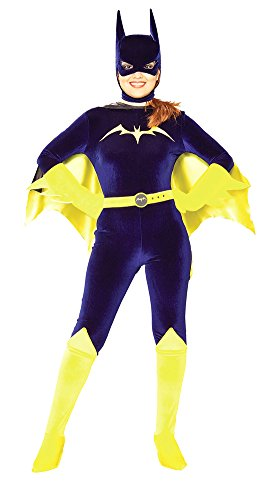 Adult-Costume Batgirl Gotham Girls Md Halloween Costume - Adult Medium