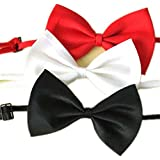 OrliverHL Selected Adjustable Dog Bow Tie Costume Collar Stripe Bow Tie Dogs Cats Puppy Tie Neck Tie - Perfect...