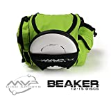 MVP Disc Sports MVP Beaker Competition Disc Golf Bag - Lime