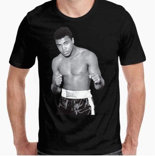 Positivos Camisetas Muhammad Ali Camiseta Hombre Retro Boxeo - XL: Amazon.es: Hogar