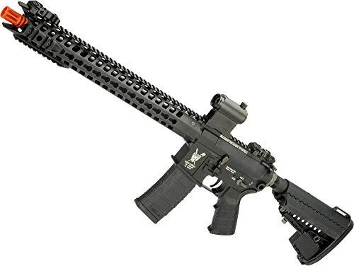 (Evike King Arms TWS Dinosaur M4 Airsoft AEG with Keymod Handguard (Color: Black))