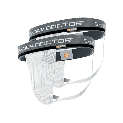 Shock Doctor Men's Core Supporter without Cup Pocket (Pack of 2), Medium by Shock Doctor