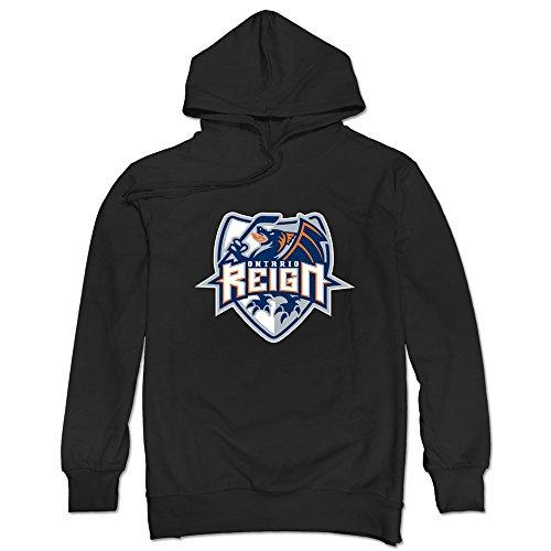 JUST Men's 2016 Hockey Logo Ontario Reign Hoodies (Ontario Large Folder)
