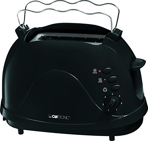 Clatronic TA 3565 2 Scheiben-Toaster, schwarz
