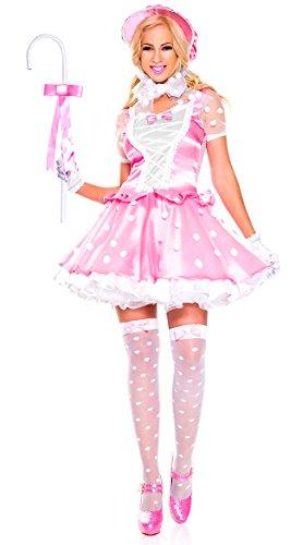 Bo Peep Halloween Costumes (Music Legs little bo peep (XL))