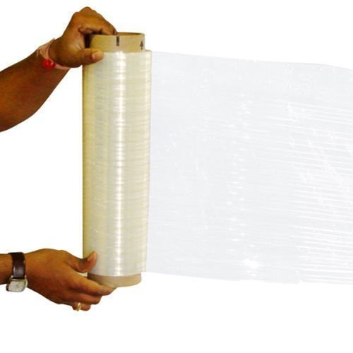 RC Mart 4 Rolls Clear Stretch Film Plastic Pallet Wrap 18'' Wide x 1500 Ft. 80 Gauge