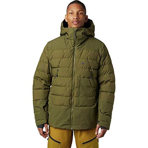 Mountain Hardwear Direct North Gore-Tex Windstopper Down Jacket - Men's Combat Green Medium