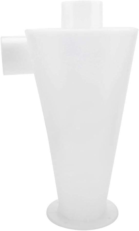 de pl/ástico para contenedores de Basura Resistente al Polvo Separador del colector de Polvo no t/óxico Duradero aut/ónomo Separador de cicl/ón antiest/ático