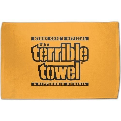 Best Price Myron Copes Official Pittsburgh Steelers Terrible Towel