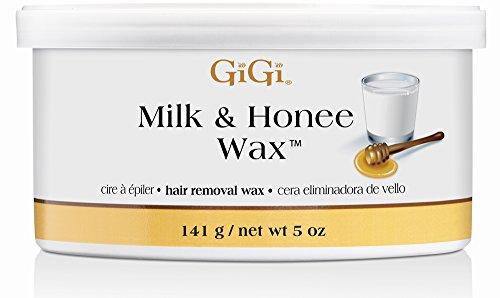American Industries GiGi Milk & Honee Wax for Hair Waxing...