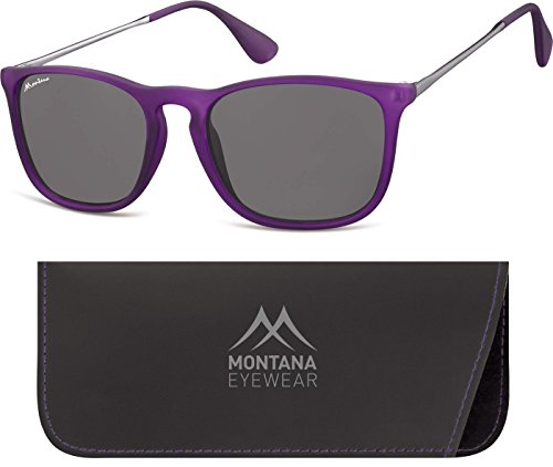 Smoked Unisex de Montana Adulto Gafas Multicoloured Lenses Sol Purple q6R6F10x