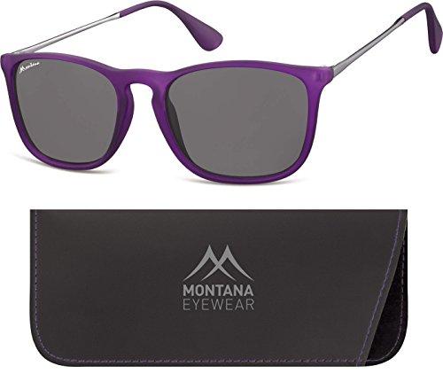 Montana, Lunettes de Soleil Mixte Multicolore - Multicoloured (Purple/Smoked Lenses)