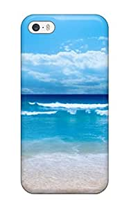 Defender Case With Nice Appearance (very Blue Ocean) For Iphone 5/5s