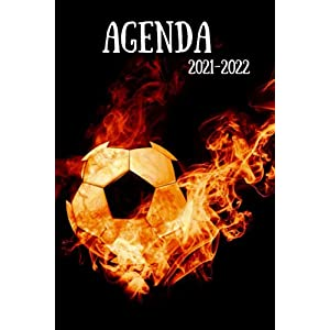 Agenda 2021-2022: Planificateur football journalier pour collège et lycée 5