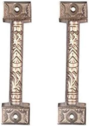 Antique Brass Adonai Hardware 126mm Gergesenes Decorative Brass Door and Cabinet Pull