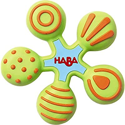 HABA Clutching Toy Star Silicone Teether : Baby