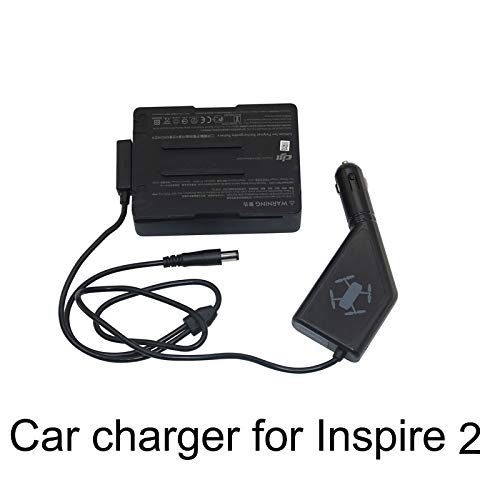D-Electro Component Drone Battery Chargers - Car Charger for DJI Inspire 2 Drone Flight Battery Remote Controller 105W Fast Charging Travel Transport Charging Spare - Quad 105w