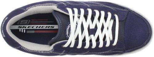 Skechers ArcadeChat 51033 GRY - Zapatillas de ante para hombre Azul