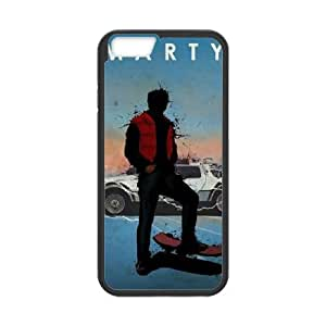 Back To The Future iPhone 6 4.7 Inch Cell Phone Case Black TPU Phone Case SV_322669
