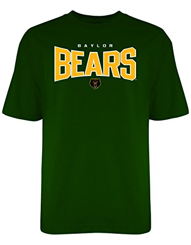 Old Varsity Brand NCAA Baylor Bears Men's Everlasting Tee, XX-Large, Forest Green