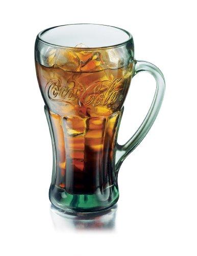 4 Coca Cola Glasses - 8