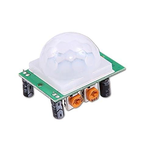 Tenflyer HC-SR501 Infrarot Sensor Modul Bewegungsmelder Arduino piroeléctrico PIR Detektor