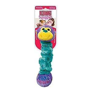 Pet Supplies : Pet Squeak Toys : KONG Squiggles Medium Dog