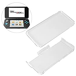 Allcaca Crystal Protector Clear Screen Protective Cover Separate Case Cover For Nintendo New 2ds Xl Ll