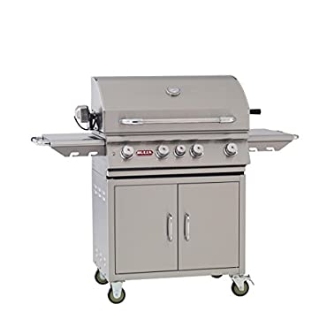 Bull Outdoor Products BBQ 44000 Angus 75,000 BTU Grill with Cart, Liquid Propane