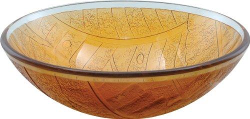 Aqua Brass Round basin w/ round Edge 97019 -